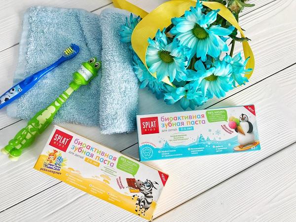 Выбор редакции - детская зубная паста Splat