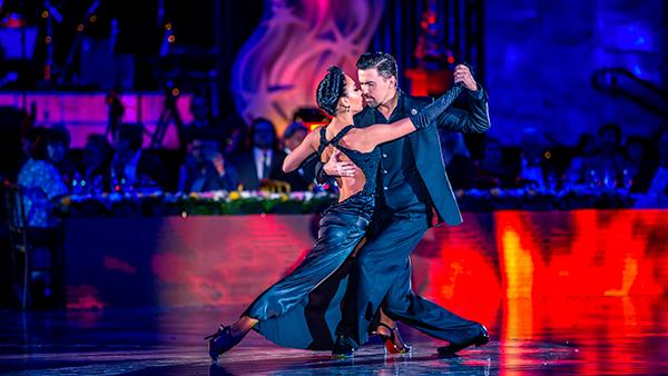 финалисты чемпионатов мира по аргентинскому танго Дмитрий Васин и Сагдиана