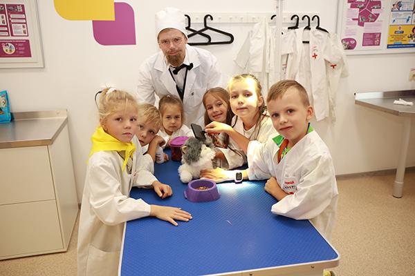 ветеринарная клиника открыта в «КидБурге»