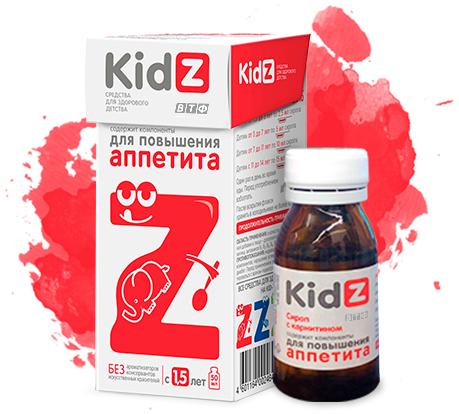 KidZ для повышения аппетита