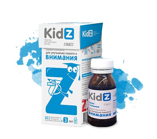 KidZ для улучшения памяти и внимания