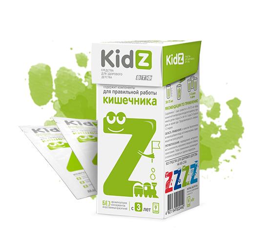 KidZ для работы кишечника