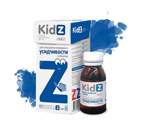 KidZ для улучшения внимания и усидчивости