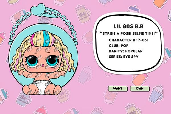 Lil 80s BB
