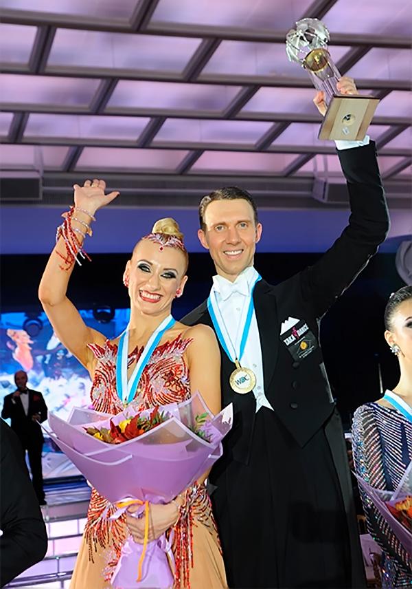 чемпионы мира Арунас Бижокас и Катюша Демидова