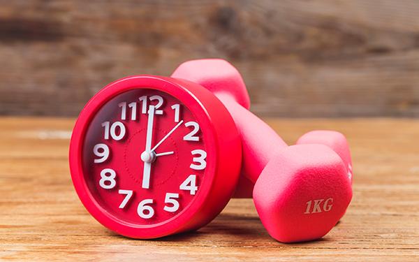 идеальное время для тренировки