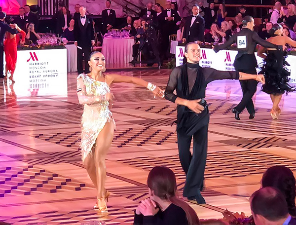 Чемпионат мира по европейским танцам WDC 2018