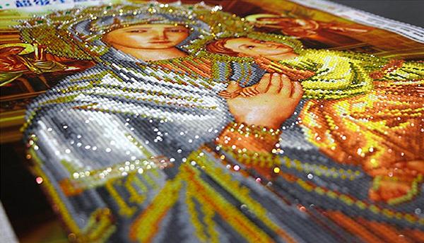 алмазная мозаика икона