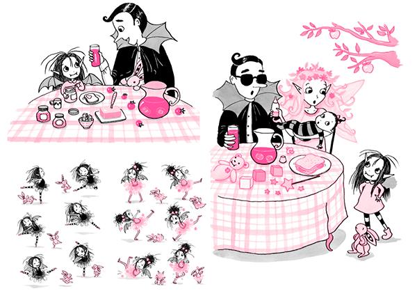 Изадора Мун иллюстрации из книги
