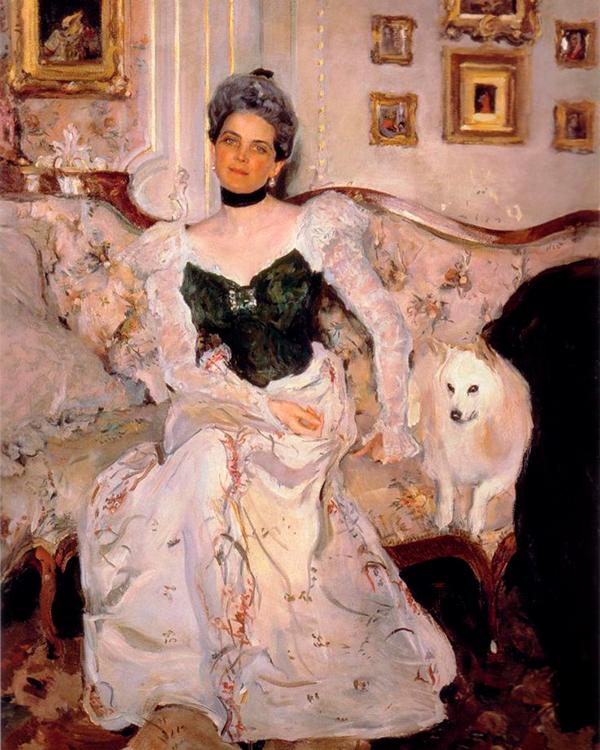 В.А. Серов, «Портрет княгини Зинаиды Юсуповой», 1902 г.