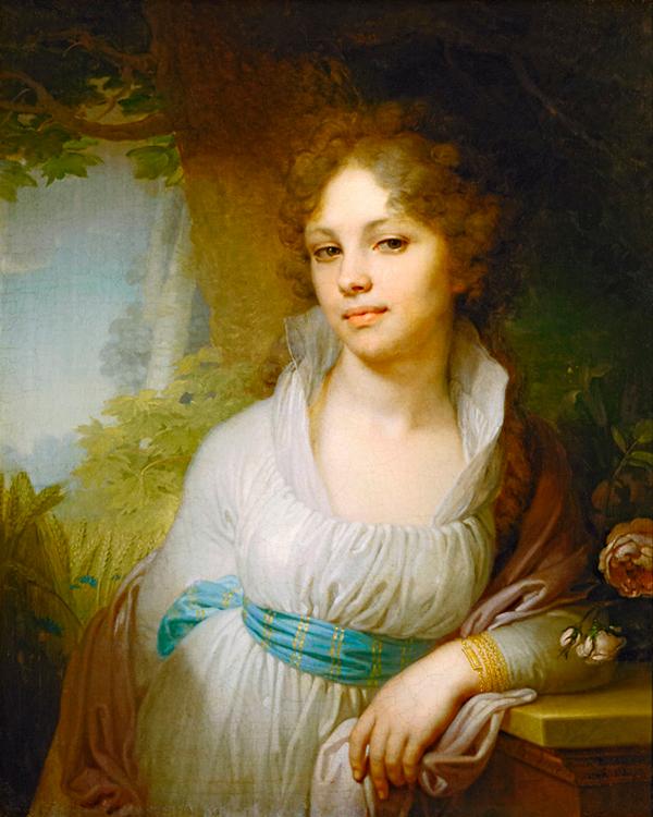 В.Л. Боровиковский, «Портрет М.И. Лопухиной», 1797 г.