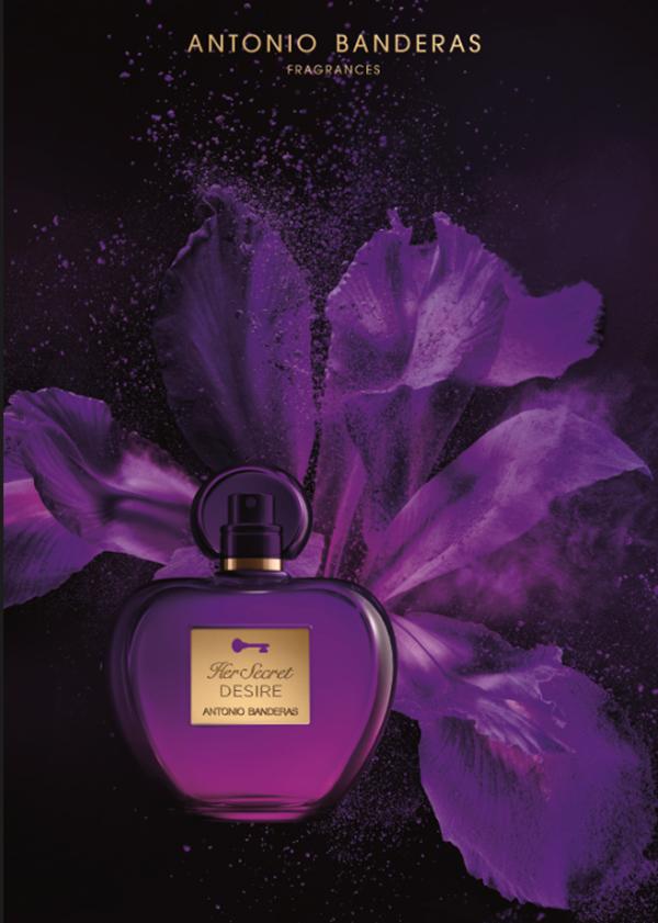 Her Secret Desire новый аромат от Antonio Banderas Fragrances