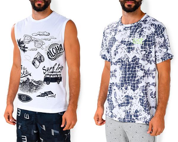 Майки и футболки EA7