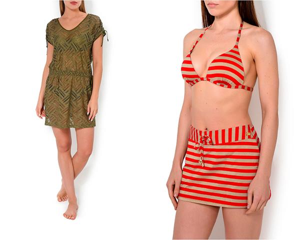 Пляжная туника и юбка Oryades