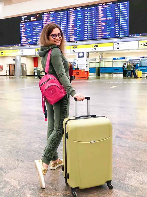 купить чемодан в москве