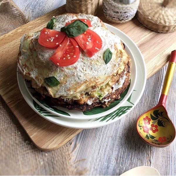 рецепты из кабачков - кабачковый торт