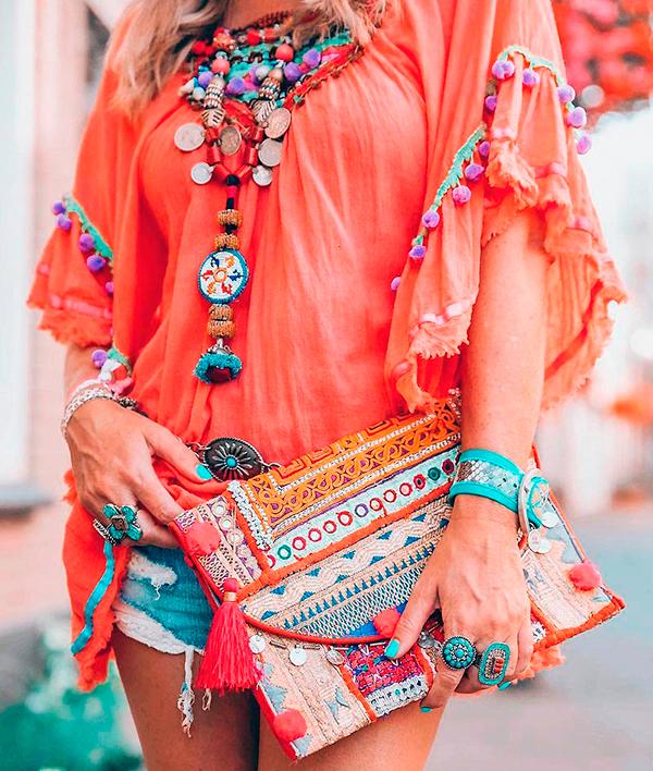 модные украшения в стиле бохо