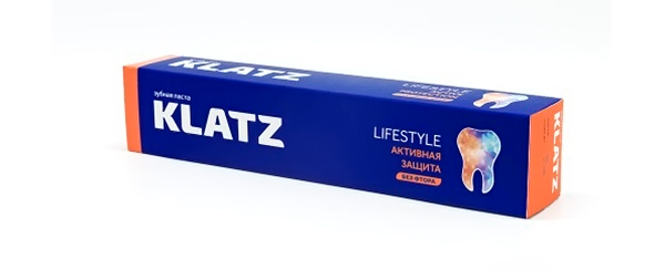 "Klatz lifestyle ""Активная защита"" без фтора"