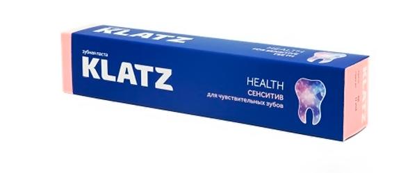 паста для чувствительных зубов Klatz health сенситив