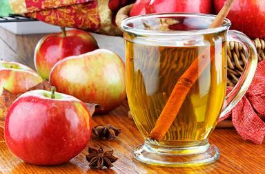 Напиток из яблочной кожуры