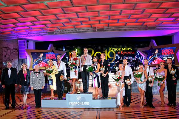 Кубок Мира в Кремле 2019 среди профессионалов по латиноамериканским танцам