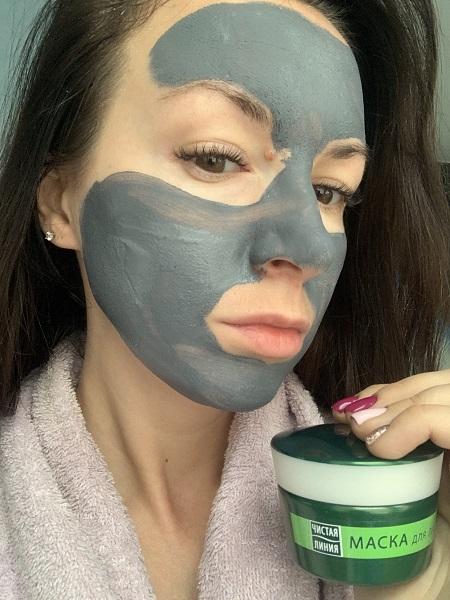 Очищающая маска Чистая линия