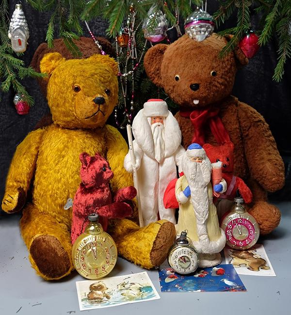 Hello Teddy 2019 советский Новый Год