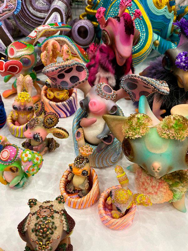 Осенний салон Авторских кукол на Тишинке 2019