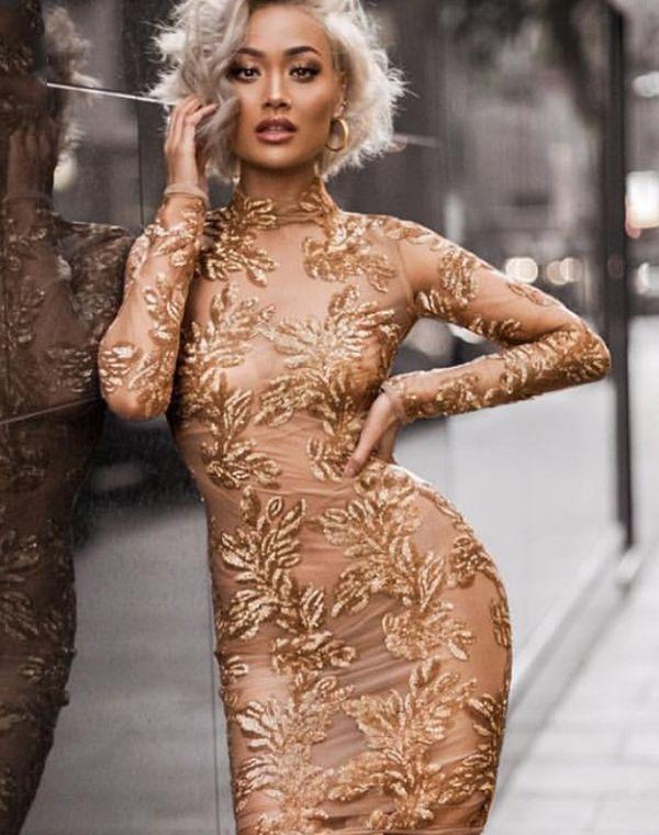 платье новый год
