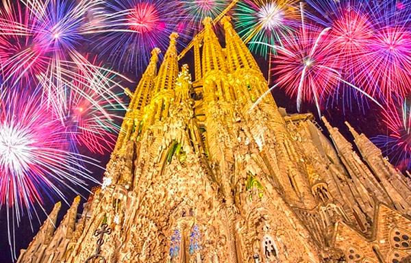 Новый год в Европе Испании