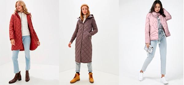 стеганые куртки 2020