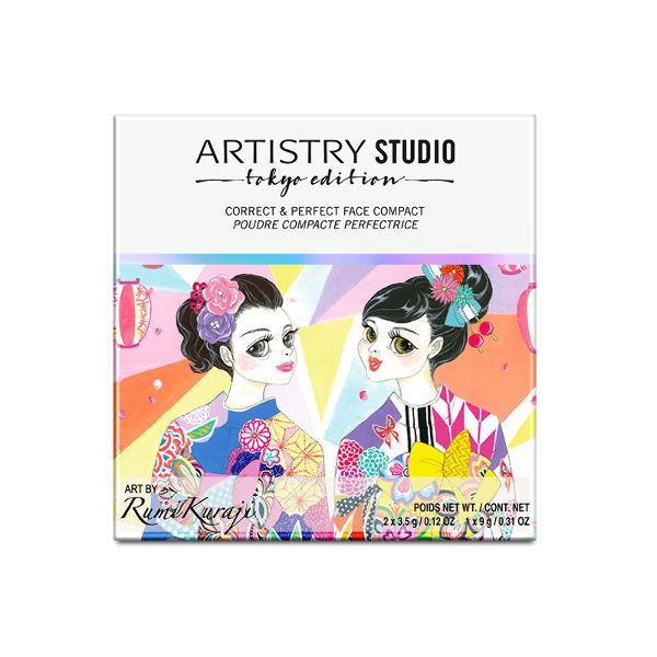 ARTISTRY STUDIO™ Tokyo Edition Палетка-корректор для лица