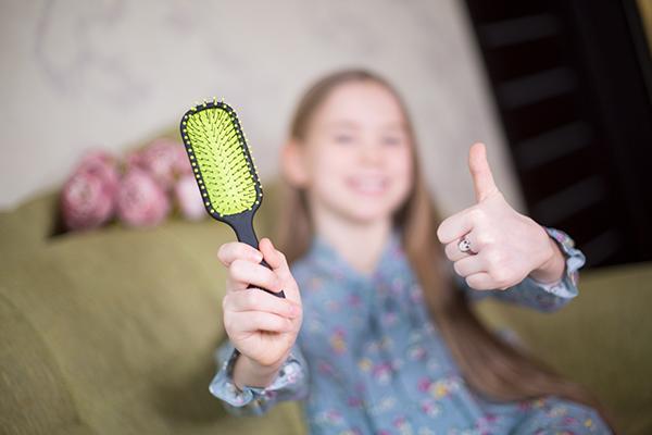 расческа для длинных волос