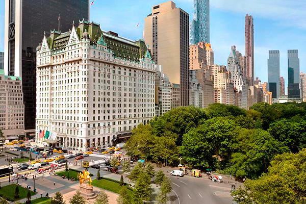 Нью-Йорк Отель «Плаза»