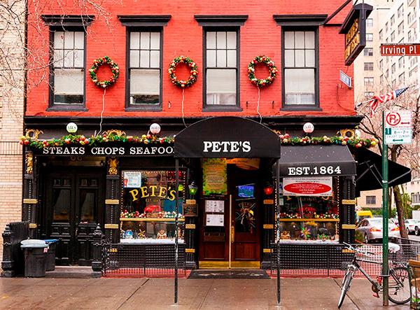 Pete's Tavern в Манхэттене
