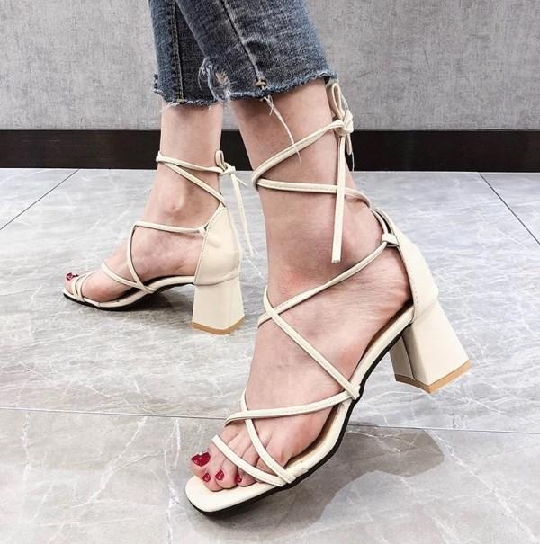 летняя обувь 2020 с завязками