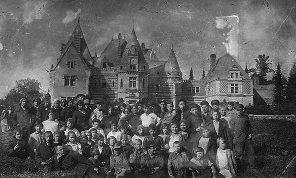 Замок графини Мейендорф