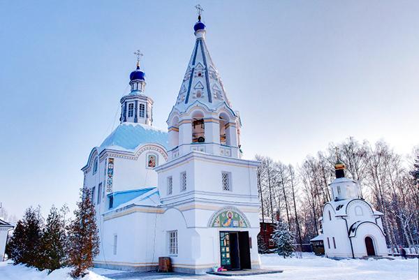 Успенское Церковь Успения Пресвятой Богородицы