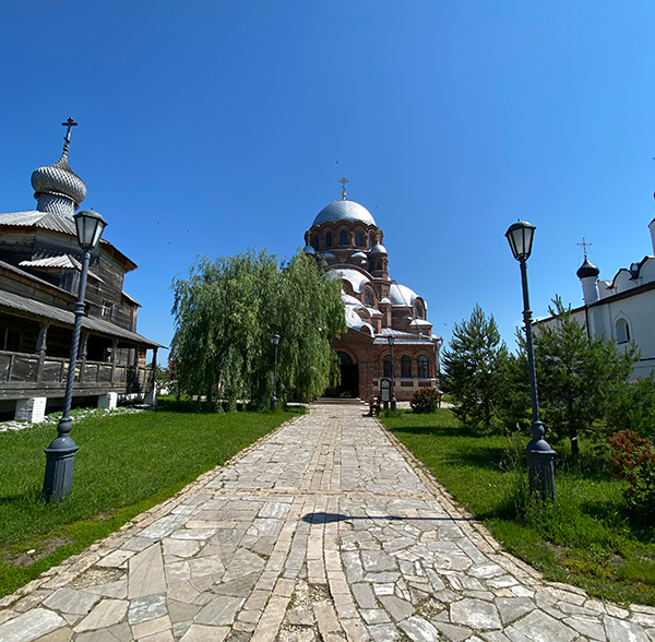 Иоанно-Предтеченский монастырь Свияжск