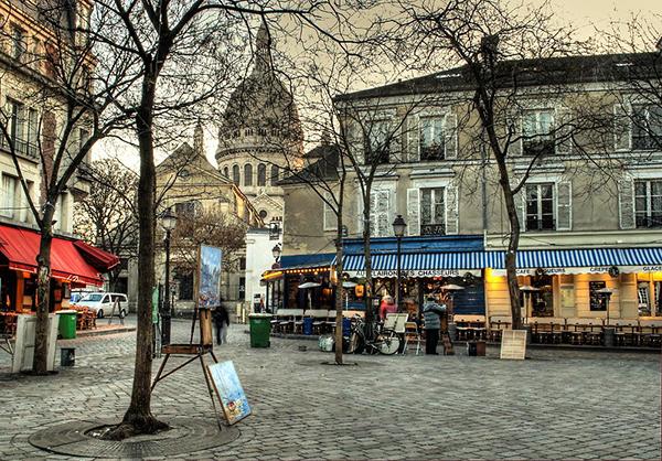 Place du Tertre (Площадь Тертр)