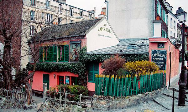 Париж, кафе «Lapin Agile»