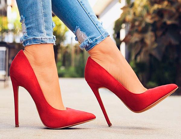 идеальные туфли на каблуке