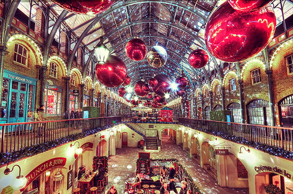 Christmas on Covent Garden