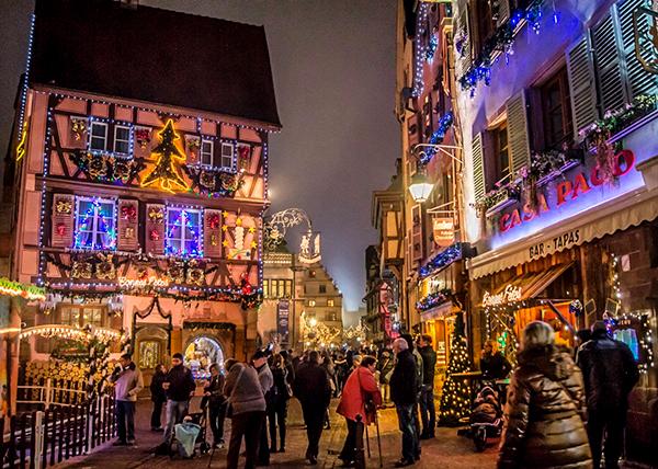 Marchés de Noël в Страсбурге