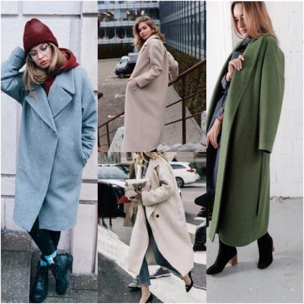 Самые модные и актуальные пальто на весну 2021.