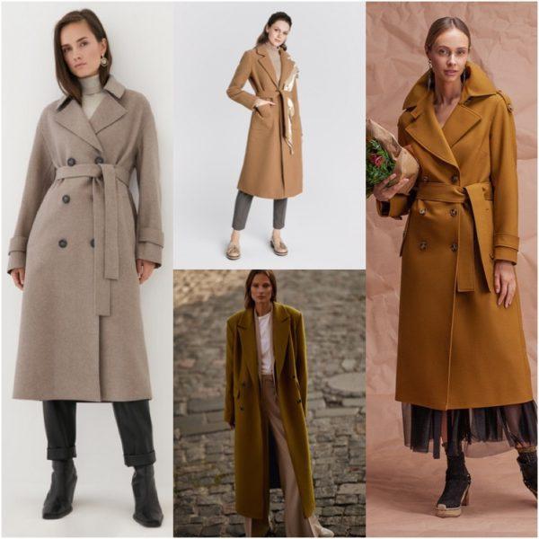 Самые модные и актуальные пальто на весну 2021